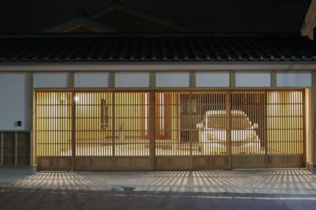 日本家屋風のビジュアルを採用した、二期工事部分。