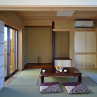 娘さんの個室/「住むなら和室」と、親子それぞれの個室は和室に。清潔感があり、飽きの来ない空間を目指した正統派の和室である