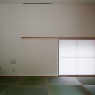 応接間として設けた和室は、専用のLDKのない親世帯、特にお父さんのくつろぎの場にもなっている
