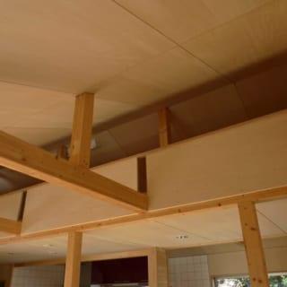 屋根裏のスペースもフル活用。