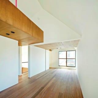 子供部屋/各子ども部屋にはロフトがあり、将来間仕切って二室として使えるようになっている