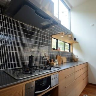 料理が楽しくなるような、家事動線設計。