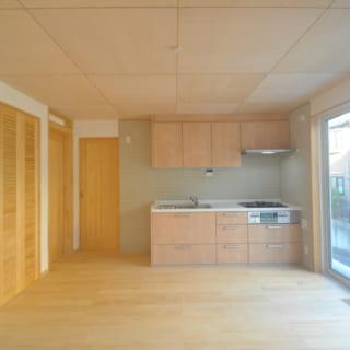 1階にはご両親が暮らすスペースを配置。水回りも別なので、プライベートはしっかり確保することができる