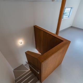 2階ユーティリティスペース。将来はここが飼い主さん達の交流スペースとなることを計画中