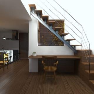 設計された空間を3D画像で確認できるので、仕上がりのイメージがつきやすい