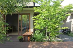 富士のふたつの家