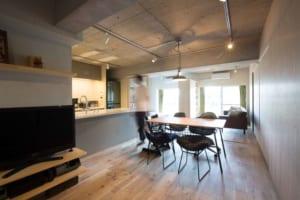 築43年のマンションを一新。 やわらかな発想で実現した豊かな環境