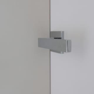 ドアはドア枠が見えないように設計。余計な線がないシンプルな美しさを極めている