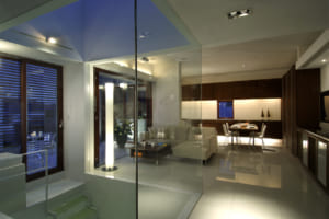 思い出とモダン建築が融合するやさしい家。 入居者にも愛される賃貸併用住宅