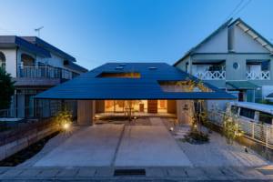 海外でも注目される建築美。 内と外がシームレスにつながるのびやかな家