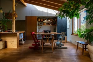 家の価値は広さや部屋数ではない 中庭が生み出した、自然とつながる家