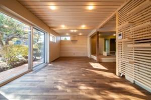 大きく窓を開口しても夏涼しく、冬暖か。 高性能の設備で、ますます暮らしやすい家